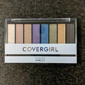 CoverGirl trunaked jewels eyeshadow palette